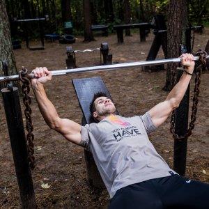 Bænkpres program - 5 x træning om ugen