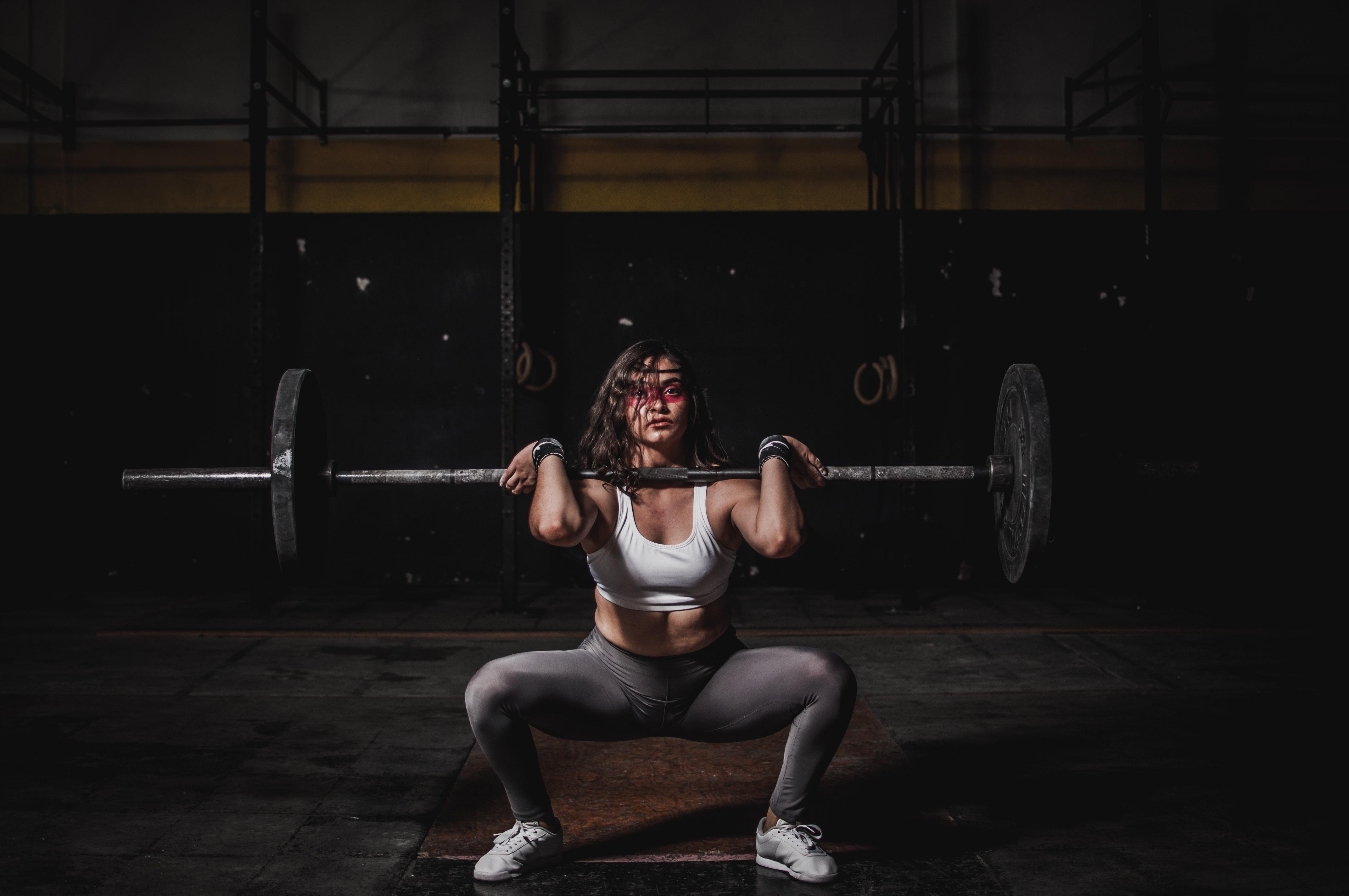 Front squat som numse øvelse