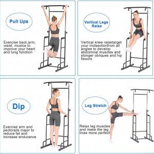 Pull up bar stand til få en alsidig træning