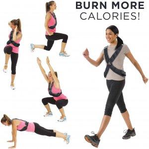 Vægtvest til at forbrænde flere kalorier