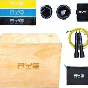 Plyo box med workout sæt