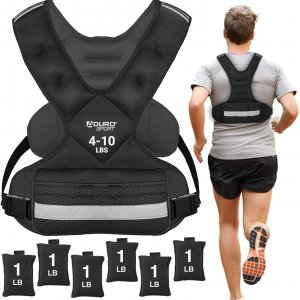 Vægtvest i komfortabelt design (1,8-4,53 kg)